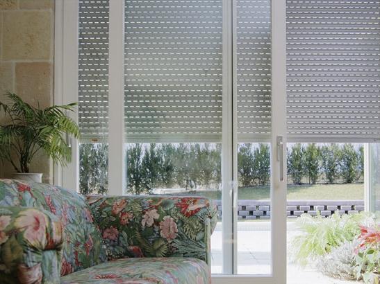 Choisir une baie vitr e - Baie vitree coulissante avec volet roulant ...