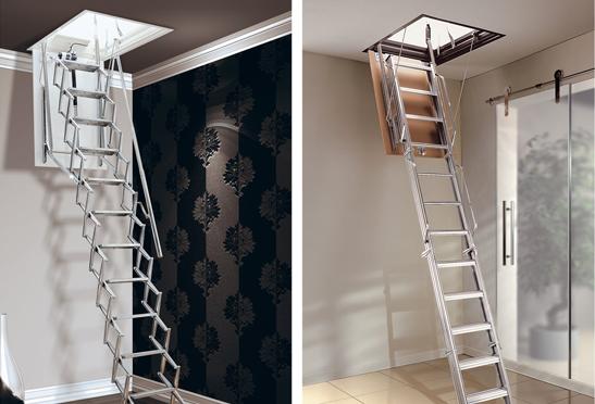 Escalier pliant, coulissant ou télescopique