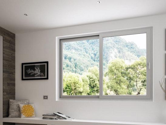 Fenêtre coulissante aluminium