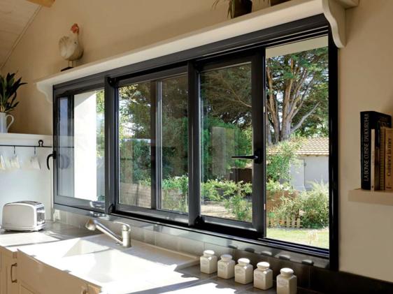 Fenêtre Coulissante Sur Mesure Fenêtre Coulissante De Qualité