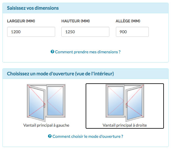 Dimension fenetre dimension fenetre standard standard deviation calculator formula error vs of - Dimension fenetre panoramique ...