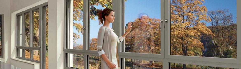Ensemble de fenêtres double vitrage