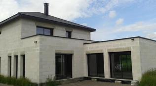 Menuiseries aluminium pour une maison moderne
