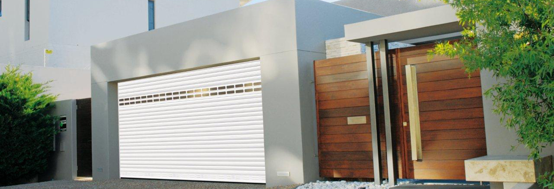 Porte de garage enroulable avec lames alu, qualité fabrication française