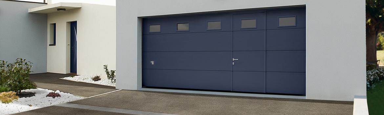 La porte de garage sectionnelle a de nombreux avantages for Installation porte de garage enroulable