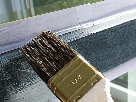 la fin de la corve de peinture - Peinture Sur Pvc Fenetre