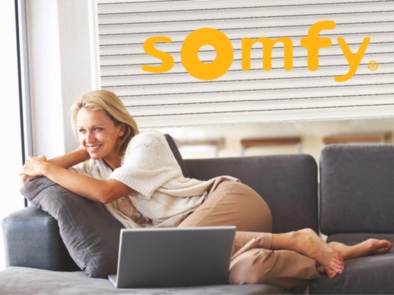 Faites confiance à SOMFY, n°1 mondial de la motorisation de volets roulants