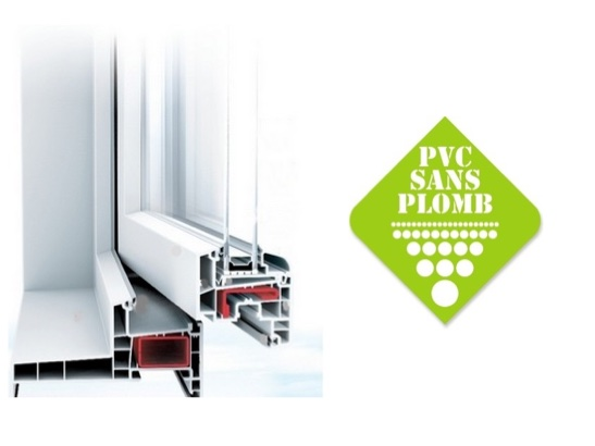 Fenêtre PVC sans plomb