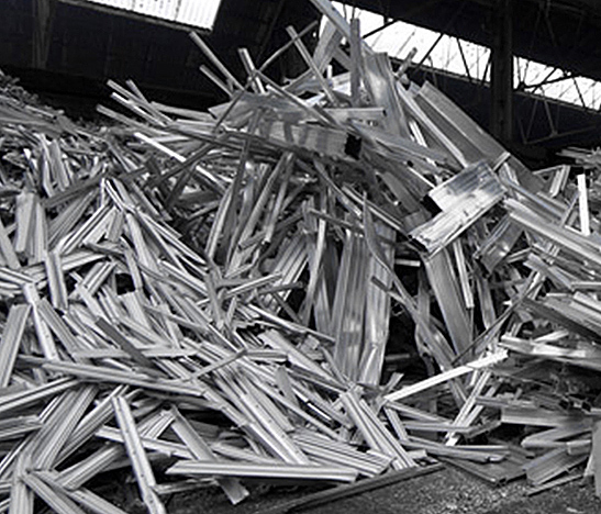 Recyclage de l'aluminium des fenêtres